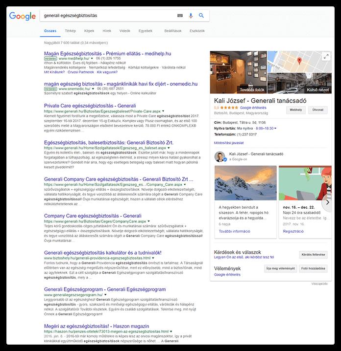 Google Cégem tanácsadás referencia